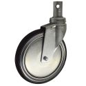 "8"" TOTAL LOCK CASTER, POLY"