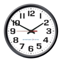"10"" QUARTZ CLOCK (BLACK)"