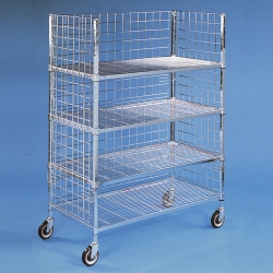 3-SIDED STOCK CART