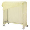 "60"" SINGLE GARMENT RACK W/"