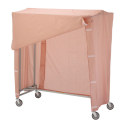 "60"" DOUBLE GARMENT RACK W/"