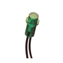 T1-3/4 WIRE TERMINAL - GREEN