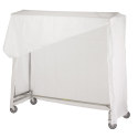 "72"" SINGLE GARMENT RACK W/"