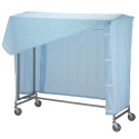 "72"" DOUBLE GARMENT RACK W/"