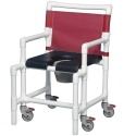OVERSIZED SHOWER CHAIR/COMMODE