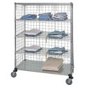 LINEN CART W/ STAINLESS STEEL