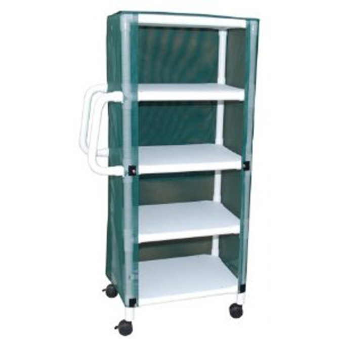 4 Shelf Mini Linen Cart Al 61625 Alco Sales Amp Service Co