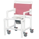 MIDSIZE SHOWER/COMMODE CHAIR