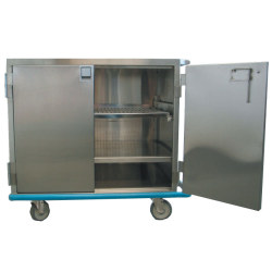 SINGLE DOOR CLOSED CASE CART