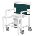 OVERSIZE SHOWER/COMMODE CHAIR