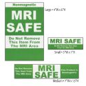 GREEN MRI SAFE LABELS (12PK)