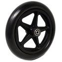 "8"" X 1"" FRONT CASTER WHEEL"