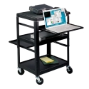 ADJUSTABLE LAPTOP UTILITY CART