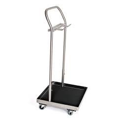 STIRRUP CART, STAINLESS STEEL