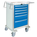CART W/ LEVER LOCK, (6) DRAWER
