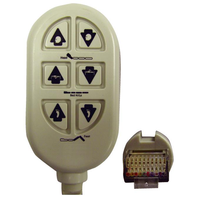 6 Button Pendant Al 78745 Alco Sales Amp Service Co