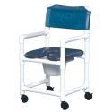 STD SOFT SEAT COMMODE CHAIR