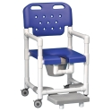 SHOWER CHAIR W/FOOTREST 20""