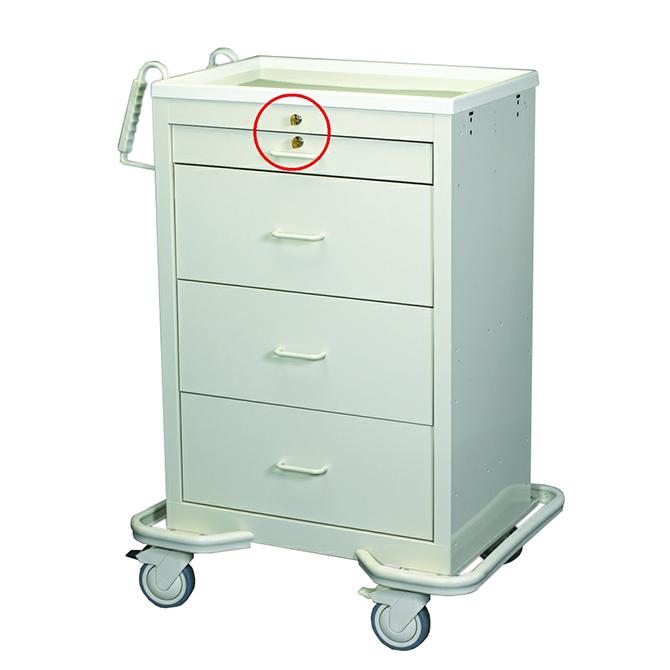 4 Drawer Medication Cart Al 82969 Alco Sales Amp Service Co