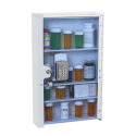 MEDICAL CABINET WALL MOUNT  W/