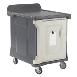 TRAY DELIVERY CART, 1 DOOR,
