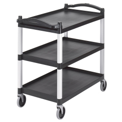 UTILITY CART OPEN DESIGN, BLK