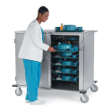 LOW PROFILE TRAY DELIVERY CART