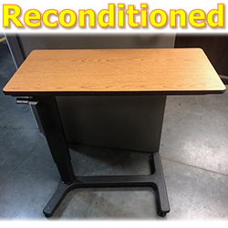 RECONDITIONED OVERBED TABLE