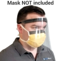 FR1 FACE SHIELD, TIE STYLE