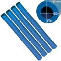 BLUE FOAM TUBING, PACK OF 4