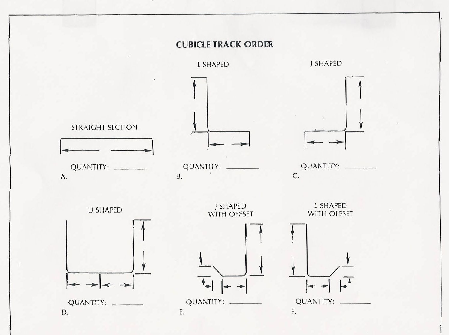Cubicle Parts Diagram Schematic Diagrams Computer Didac23 Ordering Curtain Tracking Alco Sales Service Co Elevator