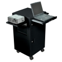MULTIMEDIA CART W/ LOCKING