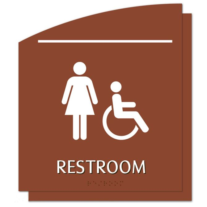female and handicap accessible symbol al opr rg71 alco sales