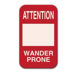 ATTENTION WANDER PRONE SIGN